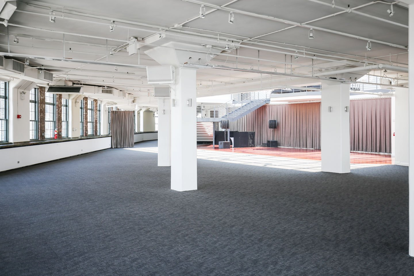 event space nyc seated reception